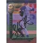 Jayson Peterson Chicago Cubs 1994 Signature Rookies Autographed Card  Rookie Card  This item comes
