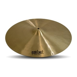 Dream Cymbals C-CRRI20 Contact Series 20-inch Crash/Ride Cymbal
