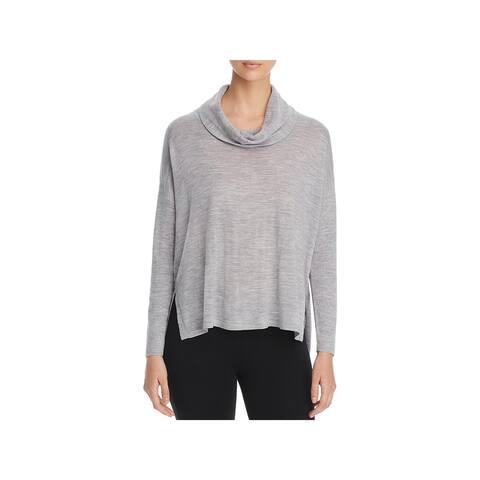 Eileen Fisher Womens Pullover Sweater Merino Wool Dolman Sleeve
