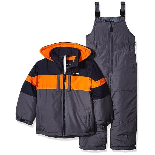 954cef26e Shop London Fog Boys 2T-4T Snow Bib Jacket Snowsuit - Free Shipping On Orders  Over $45 - Overstock - 20600916