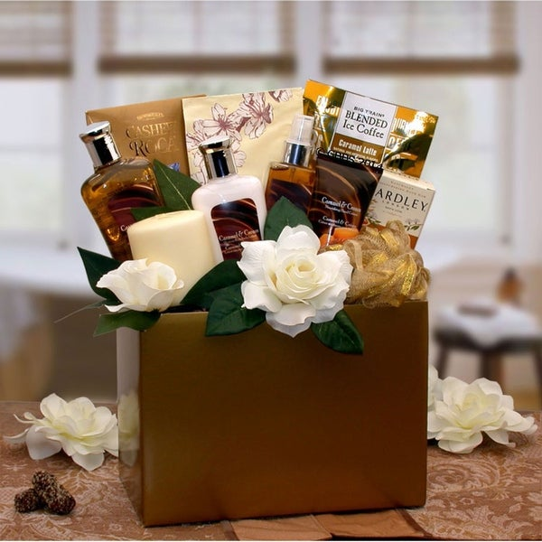 Caramel Inspirations Spa Gift Box. Opens flyout.