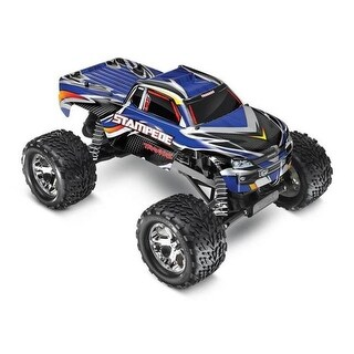 Traxxas T1X-360541BL Stampede 1 by 10 Scale Monster Truck, Blue