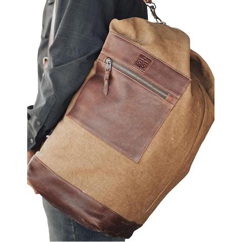 "StS Ranchwear Western Bag Adult High Plains Military Khaki - 25"" W x 12"" H x 11"" D"