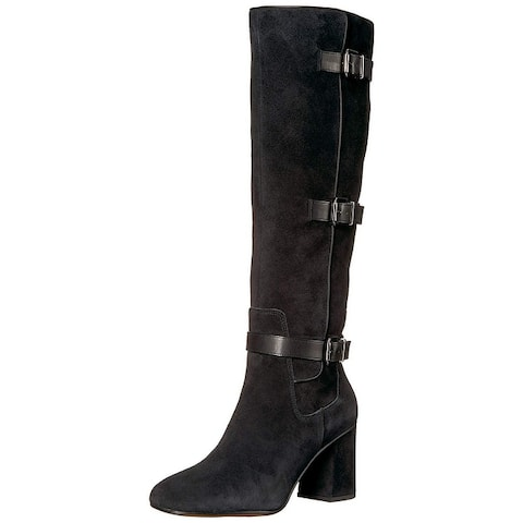 907a90897d7 Franco Sarto Womens Knoll Suede Closed Toe Knee High Fashion Boots