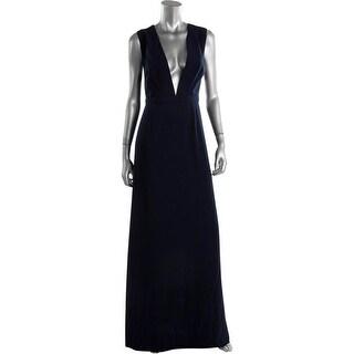 Jill Stuart Womens Evening Dress Cut-Out Deep-V