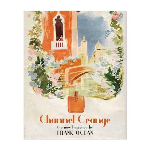 Channel Orange Frank Ocean Illustration Unframed Wall Art Print/Poster