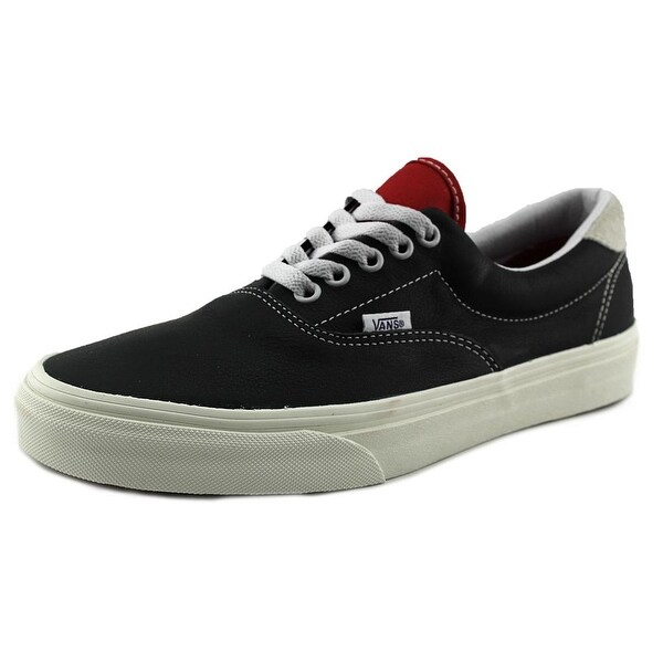 Vans Era 59 Men Round Toe Leather Black Skate Shoe