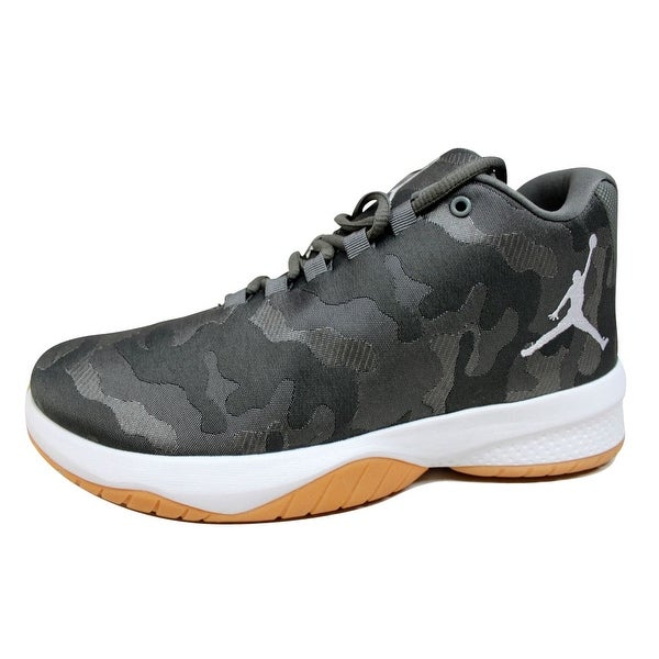 ad19c4fe2b7 Shop Nike Men s Air Jordan B Fly River Rock White-Dark Stucco nan ...