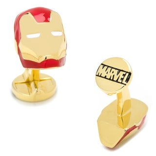 Marvel Licensed 3D Iron Man Cufflinks