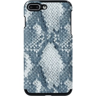 Candywirez Vegan Leather Case iPhone 7+ in Snake Grey/White