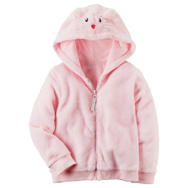 255482e7f398 Shop Carter s Little Girls  12M-4T Faux Sherpa Hoodie With Ears