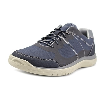 Clarks Votta Edge Round Toe Leather Sneakers
