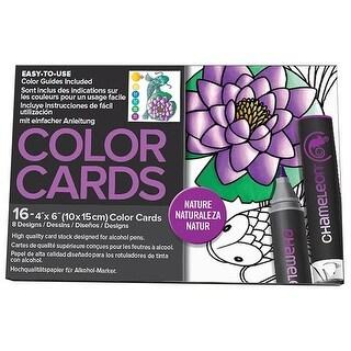 Chameleon Color Cards 4x6 Flowers 16pc
