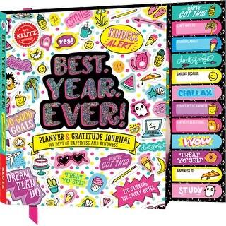 Best.Year.Ever! Planner & Gratitude Journal-