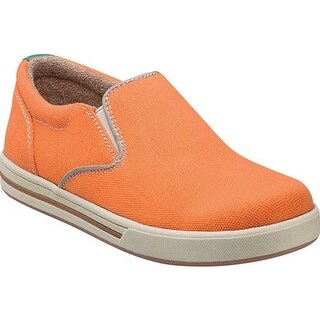 Florsheim Boys' Flipside Slip Jr. Orange Fabric