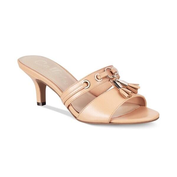 Callisto Womens Jeanet Closed Toe Casual Slide Sandals