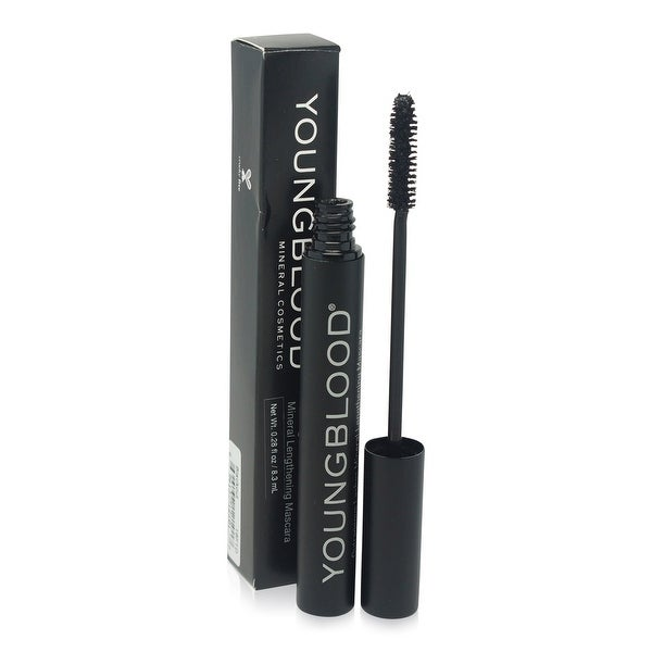 Youngblood Mineral Lengthening Mascara Blackout 0.34 Oz