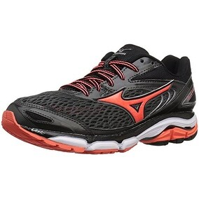 Mizuno Women's Wave Inspire 13 Running Shoe, Dark Slate/Raspberry, 8 B US