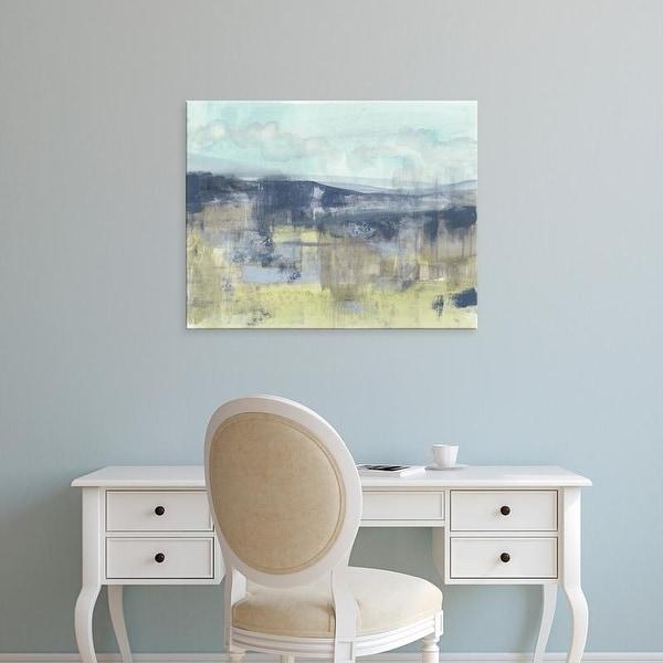 Easy Art Prints Jennifer Goldberger's 'Blueberry Hills II' Premium Canvas Art