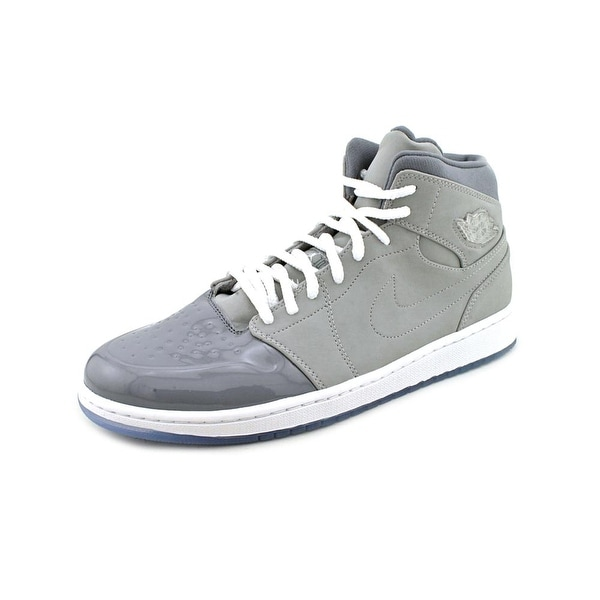 Jordan 1 Retro '95 Men Round Toe Leather Gray Basketball Shoe