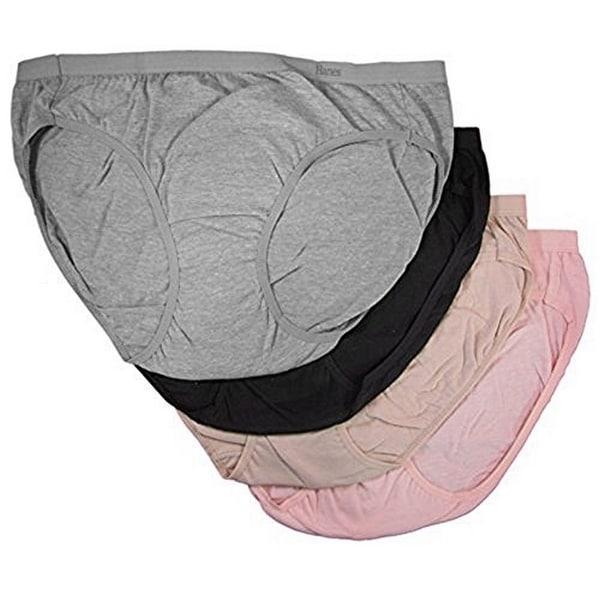 Hanes Women/'s Premium Pure Comfort Bikinis