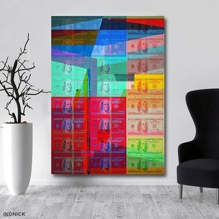 IKONICK Shattered Wealth Canvas Art