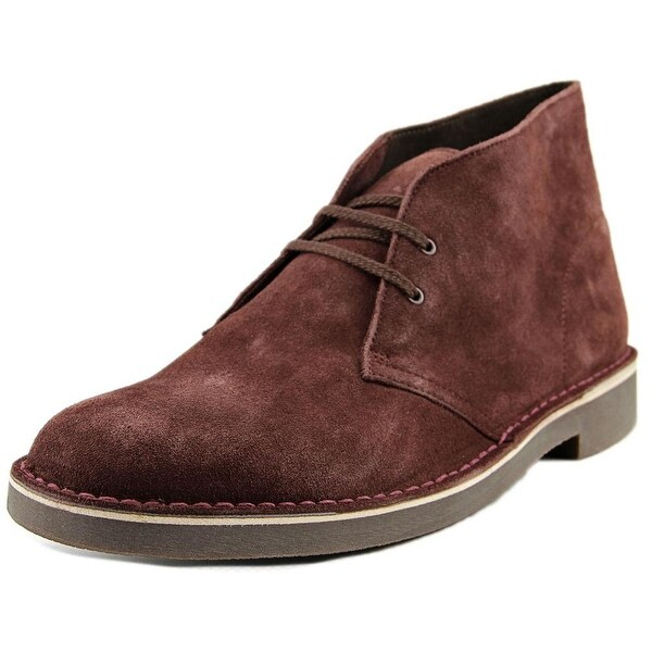 Clarks Bushacre 2 Round Toe Suede Chukka Boot