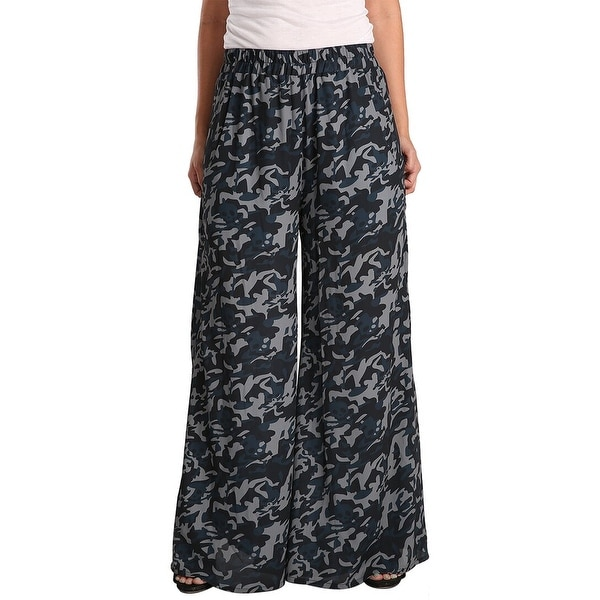 Standards & Practices Camo Palazzo Pant. Opens flyout.