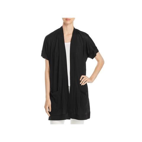 Three Dots Womens Kimono Tencel Drapey