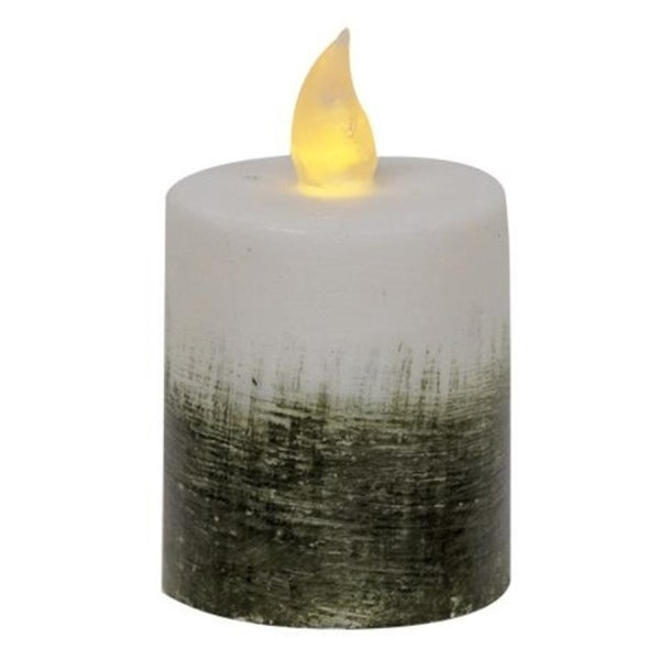 "Ombre Pillar Candle 2.5"" x 3.5"""