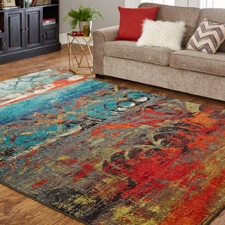 Link to Mohawk Home Eroded Color Area Rug Similar Items in Rugs