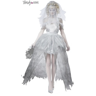 Ghostly Bride Costume, Dead Bride Costume