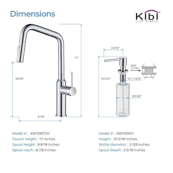 Brass High Arc Single Level Kitchen Faucet with Pull Out Sprayer