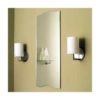 Ginger 241 16 X 36 Frameless Mirror From The Sine Collection