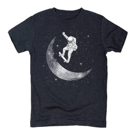 Moon Skateboard-Youth Short Sleeve Tee