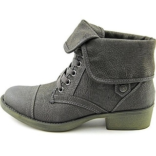 Rocket Dog Womens Taylor Brave Ankle Boots Combat Fold Over