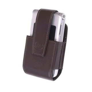 Milante Bruna Universal Belt Clip Leather Pouch (Brown)