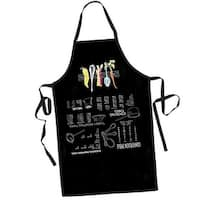 Kitchen Tips and Measurements Apron - Upside Down Text
