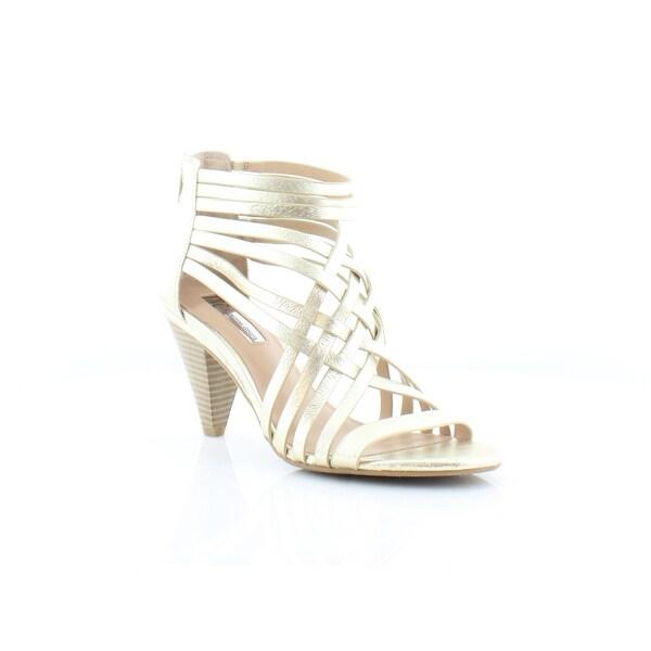 INC International Concepts Garoldd Women's Heels Gold