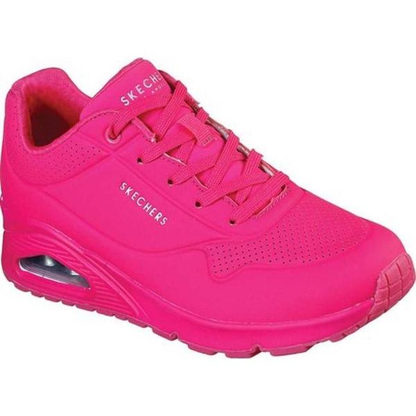 Uno Neon Nights Sneaker Hot Pink