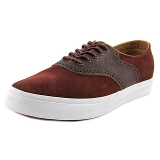 Vans Spectator Decon CA Round Toe Leather Sneakers
