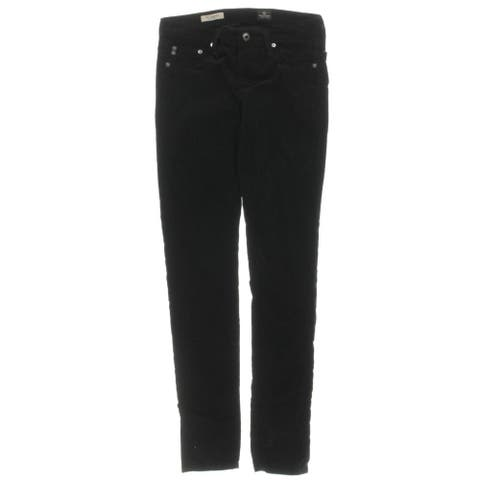 Adriano Goldschmied Womens The Legging Leggings Corduroy Flat Front