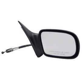 Pilot Automotive BK1309410-1R00 Black Passenger Side Manual Remote Replacement Mirror for Buick Skylark
