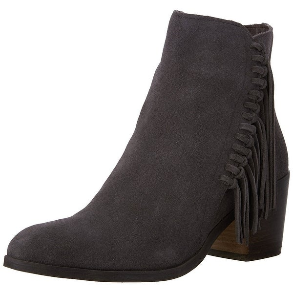 Kenneth Cole Reaction Womens ROTINI Leather Almond Toe Ankle Fashion Boots