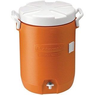 Rubbermaid 1840999 Heavy Duty Water Cooler, 5 Gallon, Orange