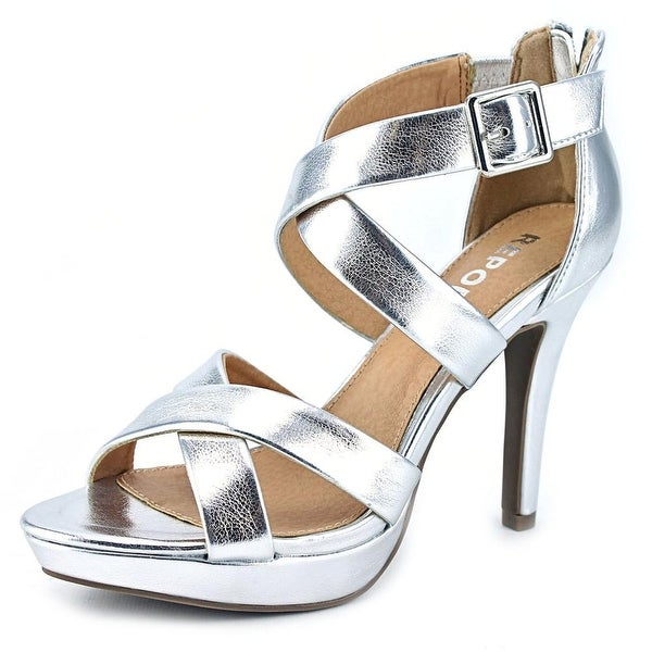 Report Livy  Women  Open Toe Synthetic  Platform Sandal