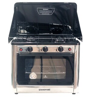 Stansport Propane Outdoor Camp Oven and 2 Burner Range 221