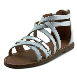 Nina Kids Honey Open Toe Leather Sandals