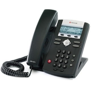 Refurbished Polycom SoundPoint IP 335 (2200-12375-001) SoundPoint IP 335 2-Line IP Phone w/ AC