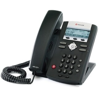 Refurbished Polycom SoundPoint IP 335 POE (2200-12375-025) SoundPoint IP 335 2-Line IP Phone (POE)